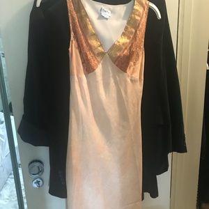 Tracy Reese three quarter length silk dress